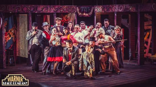 The cast of The Warner Theatre's production of Assassins 2015