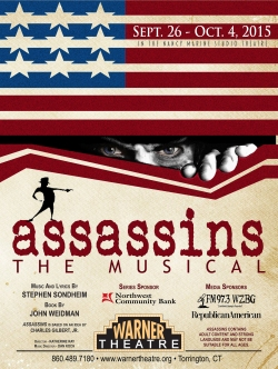 Assassins comes to The Warner Theatre September 26, 2015-October 4, 2015