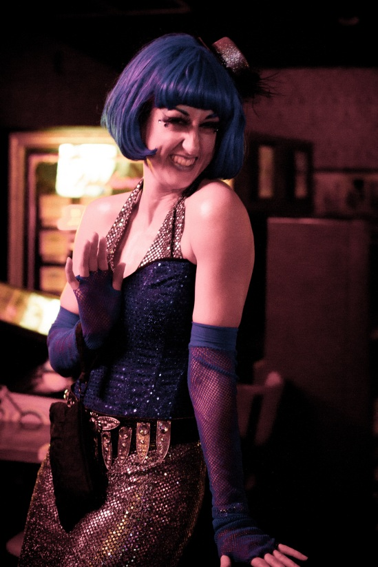 Sarah B. Sweet at last year's Robot Dance-Off - photo by Carrie Vibert