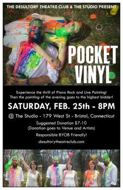 Pocket Vinyl at The Studio on February 25, 2017